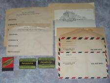 Hotel Chisca Memphis TN 1941 Matchbook Soaps Letterhead Envelopes Vtg Ephemera