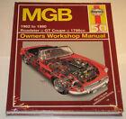 Repair Manual MG B 1800 Roadster + Gt, Year of Construction 1962 - 1980