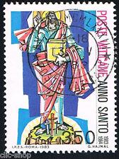 VATICANO 1 FRANCOBOLLO ANNO SANTO CRISTO REDENTORE 1983 usato