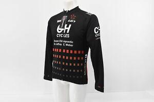 Louis Garneau Men's XS CH Cycles Lightweight Long Sleeve Cycling Jersey