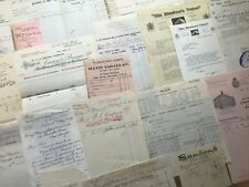 20x London Receipts / Invoices / Letters - 20th Century - ref268