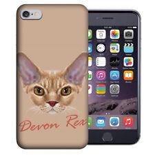 Mundaze Apple iPhone 6 Plus Design Case - Devon Rex Cat Realistic Art Cover