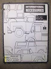 Vintage 1967? IH International Harvester Necessories Heavy Light Trucks Booklet