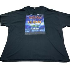 Motley Crue Poison Def Leppard Joan Jett Stadium Tour 2020 T Shirt Mens 5XL