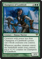 1x NM-Mint, English Regular Champion of Lambholt Avacyn Restored