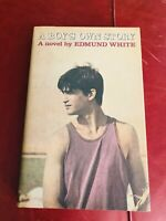Boy's Own Story Edmund White First Edition First Print Fine/Fine Jacket SIGNED