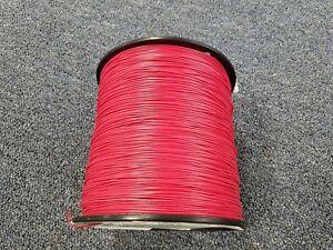 RED 24 AWG Gauge Stranded Hook Up Wire Kit 100 FT REEL UL1007 300 Volt