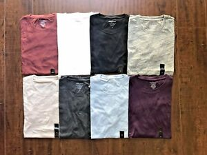 Banana Republic Men's Short Sleeve Crew Neck Premium-Wash Tee T-Shirt S M L XL
