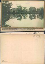 PARMA - VEDUTA CASA E LAGHETTO IN PERIFERIA ANNO 1917 -    (rif.fg.10055)