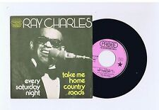 45 RPM SP RAY CHARLES EVERY SATURDAY NIGHT