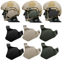 Durable Helmet Accessory Clamp Airsoft Tactical Ear Protection Covers CS Tools