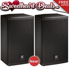 "Pair EV Electro-Voice ELX-112P 12"" Two-Way Powered PA Loudspeakers Live Sound DJ"