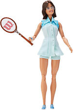 Barbie Signature Billie Jean King Inspiring Women Collector Doll Kid Toy Gift