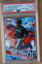 2017 Bowman's Best Gleyber Torres Top Prospects Atomic Ref PSA 9 RC