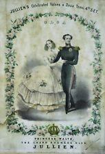 PRINSESS WALTS Sheet Music by Louis Antoine Jullien (1812 – 1860) (BI#MK/200322)