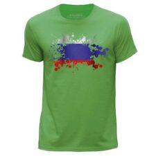 Herren-T-Shirts mit Rundhals-Ausschnitt in Größe 3XL Russland