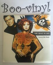 """D MOB WITH CATHY DENNIS C'mon And Get My Love 7"""" B/w Tv Mix (f117) Pic Sleeve Ex"""