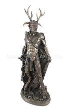 Celtic Horned God Cernunnos Standing Statue Sculpture Wicca Paganism Figurine
