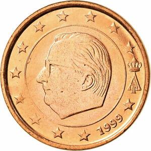 1999  BELGIUM  1 CENT  EURO BU KM# 22 1ST YEAR EUROPEAN UNION EURO'S  BU COINS