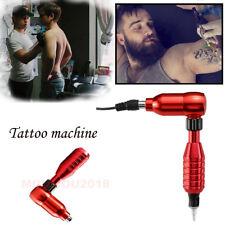 Rotary Tattoo Machine Aluminum Alloy Shader Liner Motor Gun Needle RCA Cord Kits