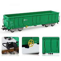 1pc/2pcs HO Scale Green RENFE Open Gondola Car Railway Wagons Rolling Stock