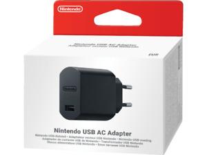 Nintendo Original USB AC Netzteil Nintendo Classic Mini Super NES (Schwarz) Neu