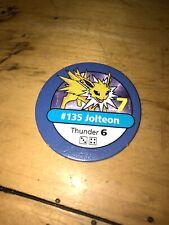 Pokemon Master Trainer - Blue Chip - #135 Jolteon 1998/1999 BLACK BOX EDITION