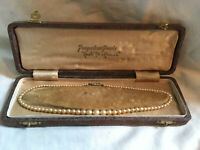 Vintage POMPADOUR Simulated Faux Pearl Necklace - Original Box