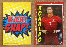 KICK magazine SNAP football playing card Portugal Real Madris CRISTIANO RONALDO