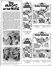 THE MAGIC OF THE KITE pressbook, 1st U.S. release: film from REPUBLIC OF CHINA