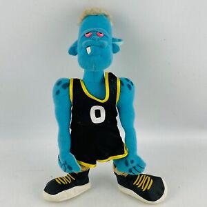 Space Jam Monstars Blanko Plush 1996 Blue Monster Stuffed McDonalds Toy