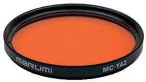 Marumi MC-YA2 Orange High Contrast Monochrome photography filter MADE in JAPAN