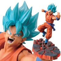DRAGON BALL Z Figurine GOKU SUPER SAIYAN GOD Scultures Banpresto