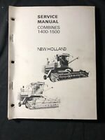 New Holland Service Manual Combines 1400-1500 *456,457