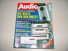 AUDIO Hifi Zeitschrift Heft 4/1999
