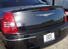 Fits 2008 - 2010 Chrysler 300 Painted Spoiler Wing Dark Titanium Pearl PDT/FDT
