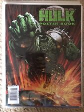 MARVEL COMICS POSTER BOOK THE HULK MAGAZINE 1 2008 JOHN BYRNE JAE LEE WORLD WAR