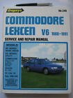 HOLDEN COMMODORE VN-VG Series LEXCEN V6,1988 to1991 WORKSHOP REPAIR MANUAL .