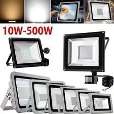 10W-500W LED Flood Light SMD/ PIR Motion Sensor/ AU Plug IP65 Outdoor Lamp 240V