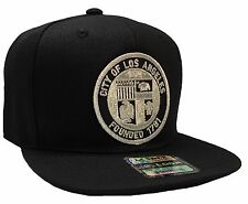 City Of Los Angeles Founded 1781 Hat Black Snapback Adjustable