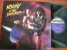 """KAGNY & THE DIRTY RATS – 12""""US LP 1983 – Soul/Funk – Motown - Top Zustand"""