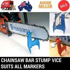 CHAINSAW BAR CHAIN STUMP VICE FILE FILING SHARPENING FITS STIHL BAUMR-AG ECHO ..