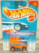 Hot Wheels 1995 Real Riders Series Mercedes Unimog orange/grey orange hub rr's