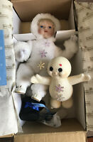 Beneath The Mistletoe Porcelain Doll SnowBabies The Ashton Drake Galleries 1994