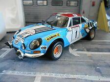 RENAULT Alpine A110 Breitbau Rallye #1 Therier Tour de Corse 1973 Kyosho 1:18