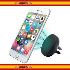Soporte Magnetico De Coche Para Telefono Movil Rejilla Ventilación Vehiculo Iman