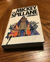 RARE!!!The Mickey Spillane OMNIBUS First edition British Edition W/Racy DJ 1973