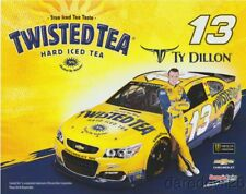 2017 Ty Dillon Twisted Tea Chevy SS NASCAR MENCS postcard