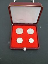 More details for uk gb elizabeth ii. 1965 silver (.925) maundy set . box. exc cond. 56th birthday