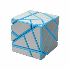 Brand new!Blue - Silver ghost cube 1 3 x3 cube rubik's cube puzzle pack
